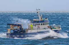 Icelandic Fishing Trawler Royalty Free Stock Photos
