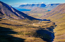 Icelandic fjords Royalty Free Stock Images