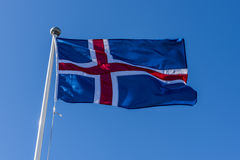 Icelandic Flag Royalty Free Stock Photos