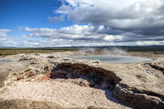 Icelandic Geyser Royalty Free Stock Images