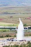 Icelandic geyser Strokkur Stock Photos