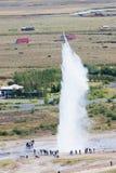 Icelandic geyser Strokkur Royalty Free Stock Images