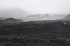 Icelandic glacier Stock Photos
