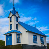 Icelandic guesthouse. An old church converted to a guesthouse Stock Photo