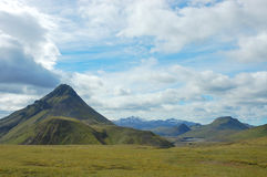 Icelandic highland landscape. Stock Images