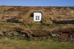 Icelandic house Royalty Free Stock Photo
