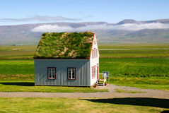 Icelandic house Stock Photos