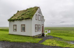Icelandic House Royalty Free Stock Images