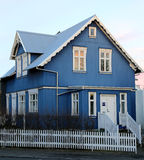 Icelandic House Royalty Free Stock Photo