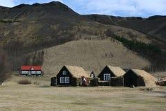 Icelandic houses Stock Photos