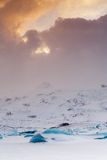 Icelandic icefield Royalty Free Stock Photography