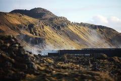 icelandic krajobraz Zdjęcia Royalty Free