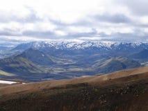 icelandic krajobraz Zdjęcie Stock
