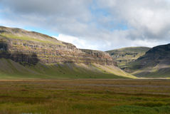 Icelandic landscape. Mountains in the south of Iceland Stock Photo