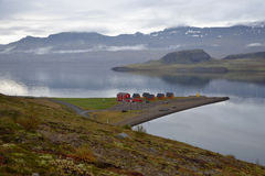 Icelandic landscape. In the Eastern Fjords Stock Photography