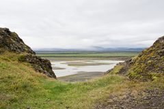 Icelandic Landscape Stock Photography