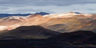 Icelandic landscape landmannalaugar Stock Images