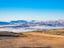 Icelandic landscape of mountain Royalty Free Stock Image