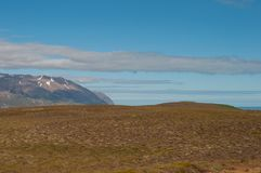 Icelandic landscape in the north Royalty Free Stock Photos