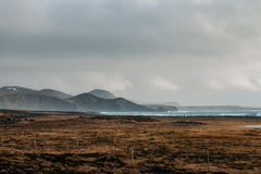 Icelandic landscape. Outside Grinavik in Southwestern Iceland Stock Photo