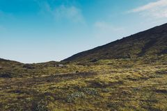Icelandic Landscape On Sunny Day Royalty Free Stock Images