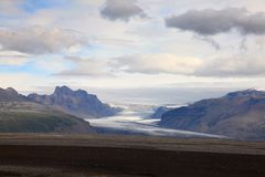icelandic liggande Royaltyfri Fotografi