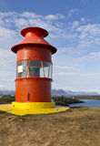 Icelandic lighthouse Royalty Free Stock Photography