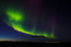 Icelandic lights Stock Photography