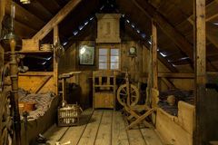 Free Icelandic Log Cabin At The National Museum Of Iceland Royalty Free Stock Images - 91572349