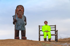 Icelandic men Royalty Free Stock Images