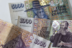 Icelandic money Stock Image