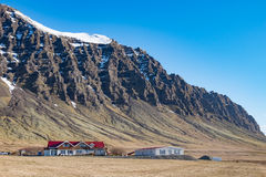 Icelandic Mountain Royalty Free Stock Photography