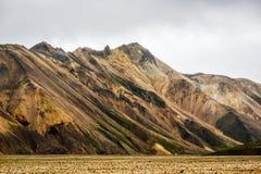 Icelandic mountain landscape, Landmannalaugar mountains summer s. Eason Royalty Free Stock Image