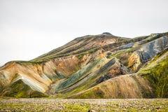 Icelandic mountain landscape, Landmannalaugar mountains summer s. Eason Stock Images