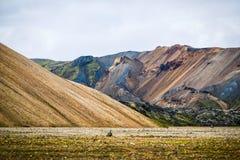 Icelandic mountain landscape, Landmannalaugar mountains summer s. Eason Stock Photography