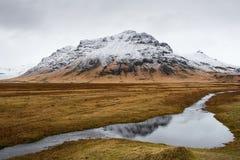 Icelandic mountain Landscape Royalty Free Stock Photo