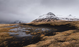 Icelandic  mountain landscape Stock Images