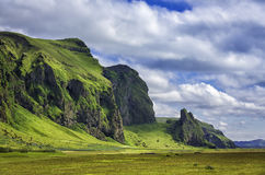 Icelandic mountain landscapes Stock Photography