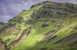 Icelandic mountain landscapes Stock Image