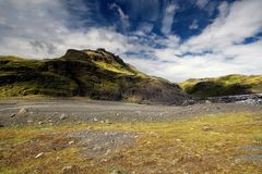 Icelandic Mountains Royalty Free Stock Photography