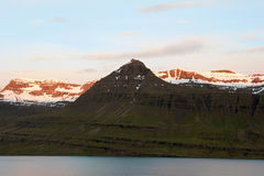 Icelandic mountains Stock Image
