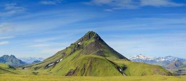 Icelandic mountains Stock Photos