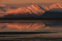 Icelandic mountains stock images