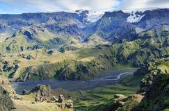 Icelandic mountains Stock Photography
