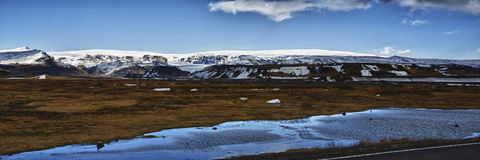 Icelandic Panorama Royalty Free Stock Image
