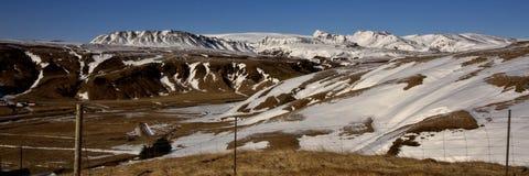 Icelandic Panorama Royalty Free Stock Photo