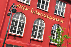 Icelandic Post Office Royalty Free Stock Images