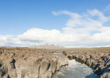 Icelandic river Royalty Free Stock Photography