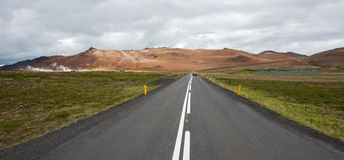 Icelandic road Royalty Free Stock Images