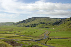 Icelandic rural landscape. Stock Images